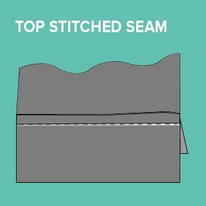 Plain Seam With A Single Stitch